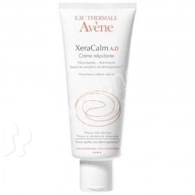 Avène XeraCalm  Lipid-Replenishing Cream 200ml + Free Xeracalm Lipid-Replenishing Cleansing Oil 400ml