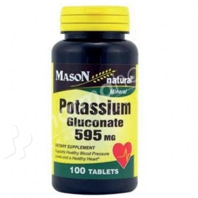 Mason Natural Potassium Gluconate