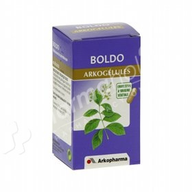 Arkopharma Arkocaps Boldo esases digestion, stimulates biliary secretion, it is a liver and gallbladder protector.