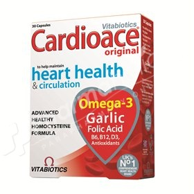 Vitabiotics Cardioace Original Heart Health & Circulation -30 tablets-
