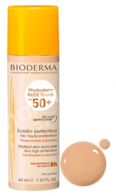 Bioderma Photoderm NUDE Touch SPF 50+ Golden Color