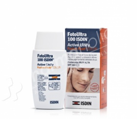 Foto Ultra ISDIN Active Unify COLOR Spf 100+