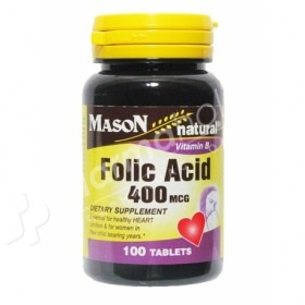 Mason Natural Folic Acid
