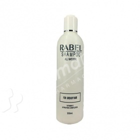 Rabel Shampoo For Greasy Hair 335ml-