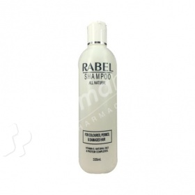 Rabel Shampoo For Coloured, Permed & Damaged Hair 335ml-