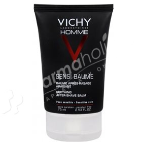 Vichy Homme Sensi Baume After-Shaving Balm -75ml-