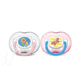 Avent 2 Free Flow Orthodentic Soothers