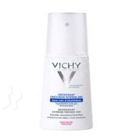 Vichy Extreme Freshness Deodorant Spray 24h 100ml