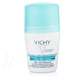 Vichy Deodorant 48 Hour No Trace Anti-Perspirant Roll On -50ml-