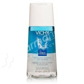 Vichy Pureté Thermale Waterproof Eye Make-up Remover for Sensitive Eyes -150ml-
